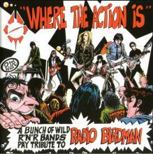 "copertina tributo Radio Birdman ""Where The Action Is"""