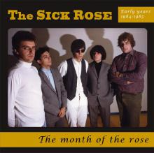 """copertina The Sick Rose """"The Month Of The Rose"""""""